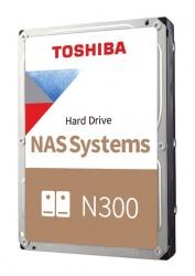 Disco Duro para NAS Toshiba N300 3.5'' de 1 a 8 Bahias, 8TB, SATA III, 6 Gbit/s, 7200RPM, 256MB Caché
