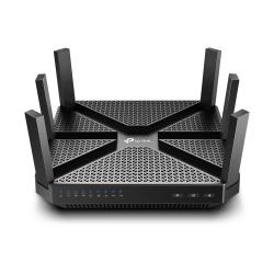 Router TP-Link Ethernet SPI Firewall Archer A20 V3, Inalámbrico,1625 Mbit/s, 2.4/5GHz, 4x RJ-45, con 6 Antenas Externas