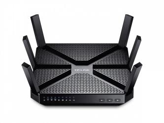 Router TP-Link Gigabit de Banda Triple ARCHER C3200, Inalámbrico, 4x RJ-45, 2.4-5GHz, con 6 Antenas Externas ― ¡Optimizado para Gaming!