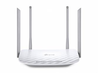 Router TP-Link de Banda Dual AC1200 ARCHER C50 V4, Inalámbrico, 867 Mbit/s, 4x RJ-45, 2.4GHz/5GHz, 4 Antenas Externas de 5dBi