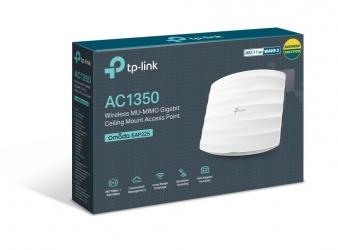 Access Point TP-Link Gigabit Ethernet de Banda Dual EAP225, 300Mbit/s, Inalámbrico, 1x RJ-45, 2.4/5GHz, 3 Antenas de 5dBi