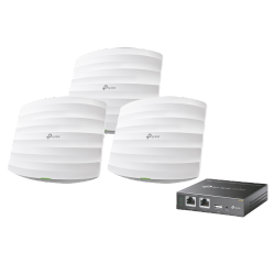 Access Point TP-Link de Banda Dual EAP225 V3, 867Mbps, 1x RJ-45, 2.4/5GHz, 3 Antenas de 5dBi, 3 Piezas ― Incluye Controlador OC200