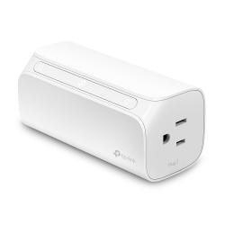 TP-Link Smart Plug HS107, WiFi, 2 Conectores, 1800W, 15A, Blanco