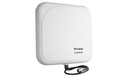 TP-Link Antena Exterior Direccional, N Hembra (Jack), 14dBi, 2.4GHz