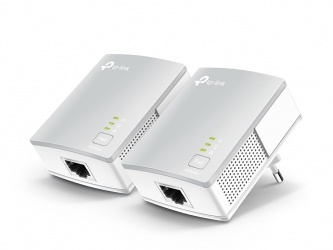 TP-Link Starter Kit del Adaptador Nano Powerline AV500 TL-PA4010KIT, 500Mbit/s