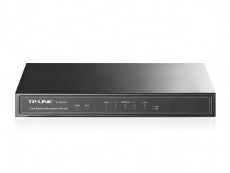 Router TP-Link con Firewall TL-R470T+, Fast Ethernet, Alámbrico, 4x RJ-45