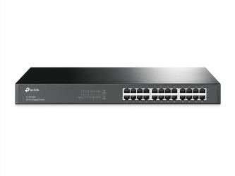 Switch TP-Link Gigabit Ethernet TL-SG1024, 10/100/1000Mbps, 48Gbit/s, 24 Puertos – No Administrable