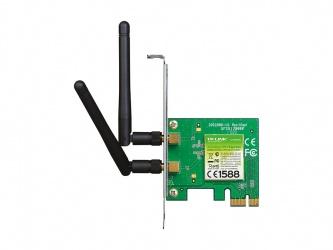 TP-Link Tarjeta de Red TL-WN881ND, Inalámbrico, 300 Mbit/s, PCI Express, WLAN, con Antena de 2dBi