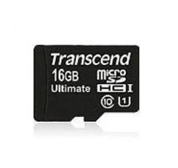 Memoria Flash Transcend, 16GB microSDHC UHS-I Clase 10