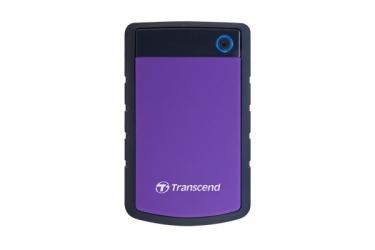 Disco Duro Externo Transcend StoreJet 25H3P 2.5'', 4TB, SATA, USB 3.0, Negro/Violeta - para Mac/PC