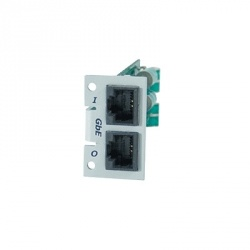 Transtector Modulo Individual Giga Ethernet para Protector PoE T-CPX-MGE, 2x RJ-45