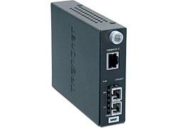 Trendnet Convertidor de Fibra Inteligente SC Multimodo de 1000BASE-T a 1000BASE-FX