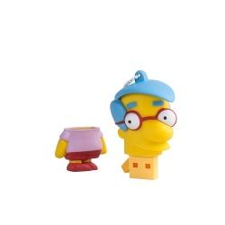 Memoria USB Tribe, 8GB, USB 2.0, Diseño Milhouse Los Simpsons