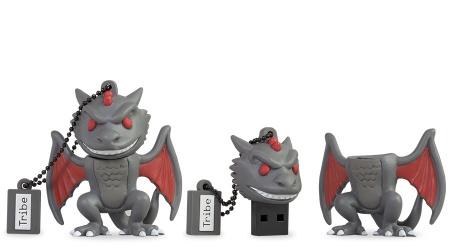 Memoria USB Tribe, 16GB, USB 2.0, Game of Thrones Drogon
