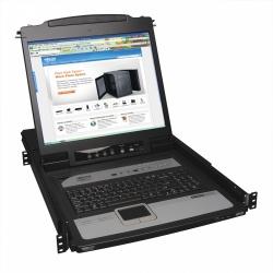 Tripp Lite Consola KVM IP NetDirector para Rack 1U, 8 Puertos, LCD 19''
