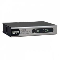 Tripp Lite Switch KVM Desktop Slim B022-002-KT-R, 2 Puertos