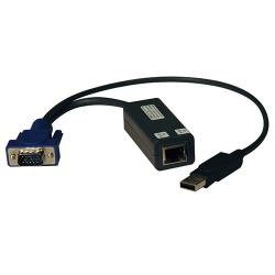 Tripp Lite Cable KVM RJ45 Macho - HD15/USB A Hembra, Negro - 8 Piezas
