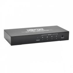 Tripp Lite Video Splitter B118-004-UHD, 4 Puertos HDMI, Negro
