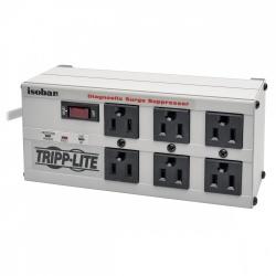 Tripp Lite Supresor de Picos ISOBAR6, 2350J, 1440W, Entrada 120V, 6 Contactos
