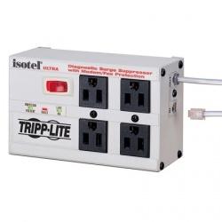 Tripp Lite Limitador de Tensión Ultra Isobar con Luces, 2700J, 4 Contactos