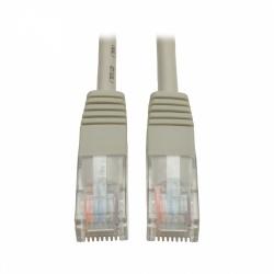Tripp Lite Cable Patch Cat5e UTP Moldeado RJ-45 Macho - RJ-45 Macho, 7.62 Metros, Gris