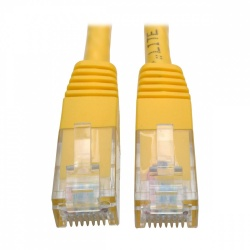 Tripp Lite Cable Patch Cat6 UTP Moldeado RJ-45 Macho - RJ-45 Macho, 91cm, Amarillo