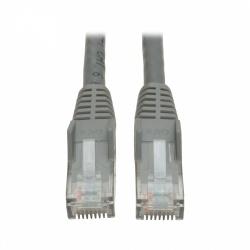 Tripp Lite Cable Patch Cat6 UTP Moldeado sin Enganches , RJ-45 Macho - RJ-45 Macho, 3 Metros, Gris