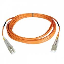 Tripp Lite Cable Fibra Óptica Duplex LC Macho - LC Macho, 62.5/125, 1 Metro, Naranja