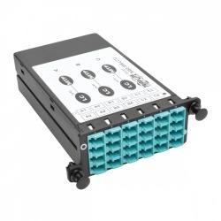 Tripp Lite Módulo de 12 Adaptadores de Fibra Óptica MTP/LC Dúplex/Simplex, Azul/Gris