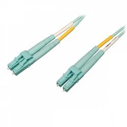 Tripp Lite Cable Fibra Óptica OM4 LSZH LC Macho - LC Macho, 1 Metro, Aqua
