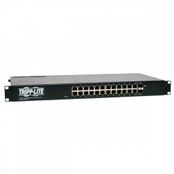 Switch Tripp Lite Gigabit Ethernet NSU-G24C2, 24 Puertos 10/100/1000Mbps + 2 Puertos SFP, 48 Gbit/s, 8000 Entradas - No Administrable