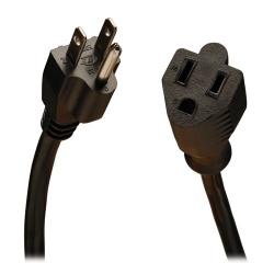 Tripp Lite Cable de Poder NEMA 5-15P - NEMA 5-15R, 4.57 Metros, Negro