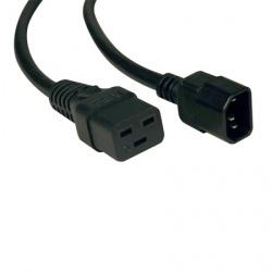 Tripp Lite Cable de Poder C19 Coupler - C14 Coupler, 3.05 Metros, Negro