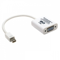 Tripp Lite Cable Adaptador Mini DisplayPort Macho - HD15 Hembra, 15cm, Blanco