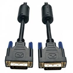 Tripp Lite Cable TMS Digital DVI-D Macho - DVI-D Macho, 7.62 Metros, Negro