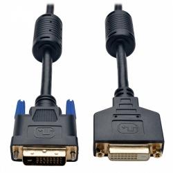 Tripp Lite Cable DVI-D Macho - DVI-D Hembra, 1.83 Metros, Negro