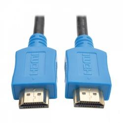 Tripp Lite Cable HDMI Macho - HDMI Macho, 1.8 Metros, Negro/Azul