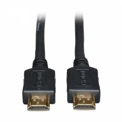 Tripp Lite Cable HDMI de Alta Velocidad, Macho - Macho, 7.62 Metros, Negro