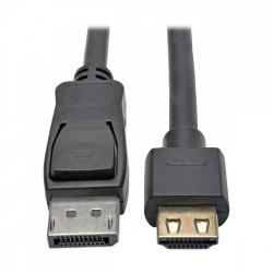 Tripp Lite Cable DisplayPort Macho - HDMI Macho, HDCP 2.2, 90cm, Negro