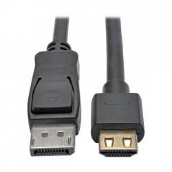 Tripp Lite Cable DisplayPort Macho - HDMI Macho, 1.83 Metros, Negro