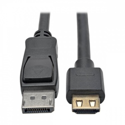 Tripp Lite Cable DisplayPort Macho - HDMI Macho, 3 Metros, Negro