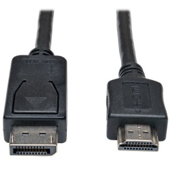 Tripp Lite Cable DisplayPort Macho - HDMI Macho, 4.57 Metros, Negro