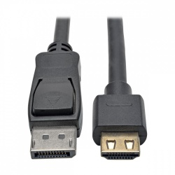 Tripp Lite Cable DisplayPort Macho - HDMI Macho, 6.1 Metros, Negro