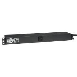 Tripp Lite PDU Monofásico Básico, 15A 120V, para Instalación Horizontal en 1U de Rack