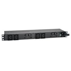 Tripp Lite PDU para Rack 1U PDUH32HV19, 32A, 200 - 240V, 4 Contactos
