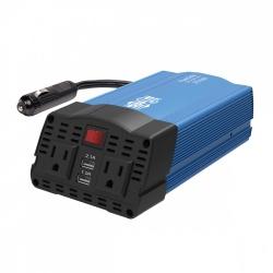Tripp Lite Cargador para Auto PV375USB, 120V, 2x USB 2.0, Negro/Azul