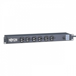 Tripp Lite PDU para Rack 1U, 15A, 120V, 6 Contactos