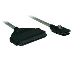 Tripp Lite Cable mini-SAS Macho - SFF-8484 Macho, 91cm, Gris