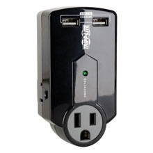 Tripp Lite Supresor de Picos Protect It!, 3 Contactos, 540 Joules, 2x USB