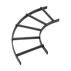 Tripp Lite Curva en E para Canaleta de Escalerilla SRL90BEND12, Negro